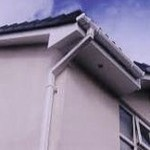 UPVC fascia and soffit